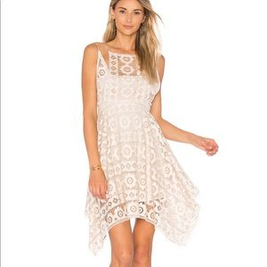 Free People   Just Like Honey Lace Dress in Ivory